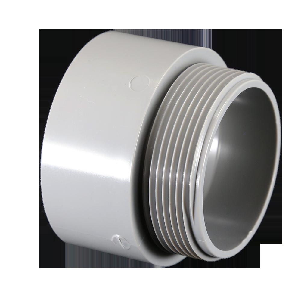 "Cantex 5140108 2"" PVC Sch40/80 Male Terminal Adapter, UL/CSA"