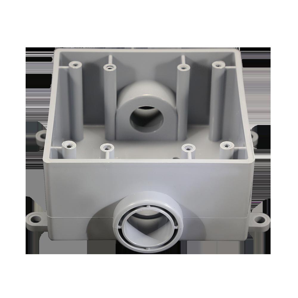PVC 2FSC50 2GANG PVC FSC BOX 1/2