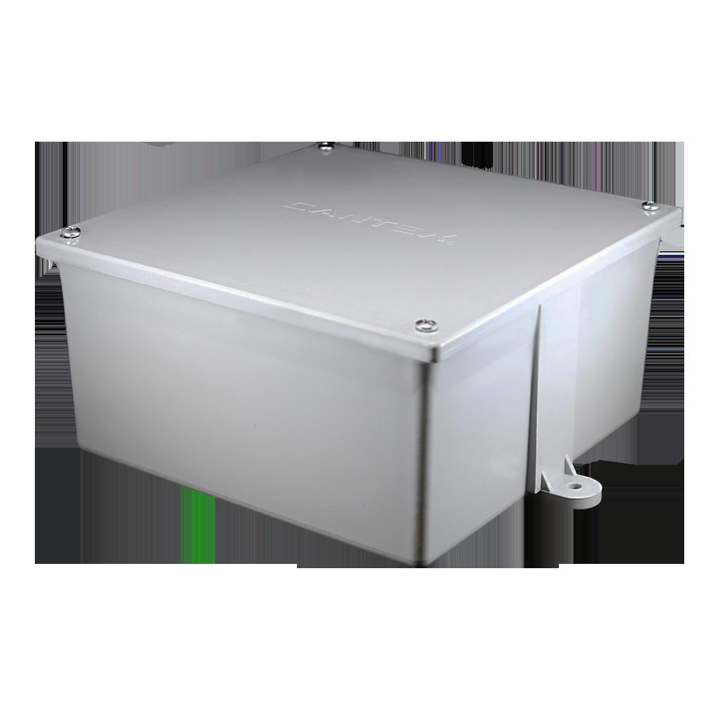 PVC 4X4X4-JCT-BOX-W/CVR
